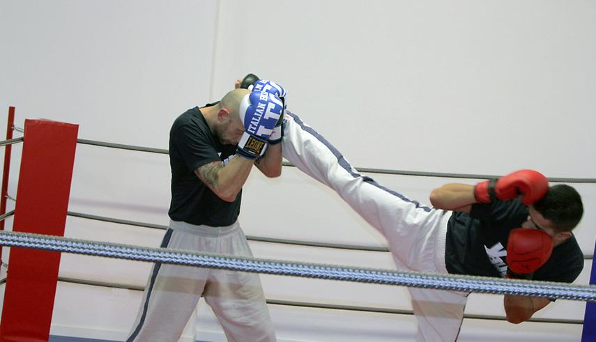 Kickboxing calcio circolare