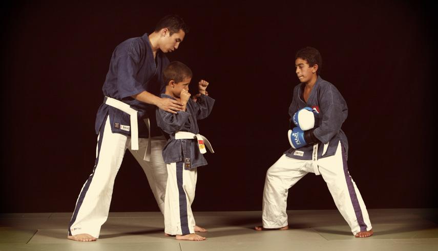 A Milano arti marziali per bambini